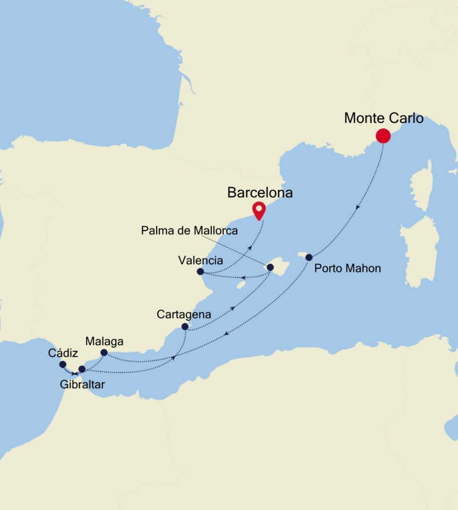 Monte Carlo Itinerary