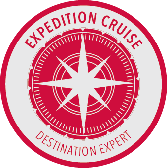 Silversea Expedition Cruise Expert Badge